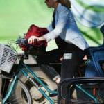 Marburg: Einsatz digitaler Technologien im Verkehr. Eine App regelt in Marburg die Grüne Welle für Radfahrer.