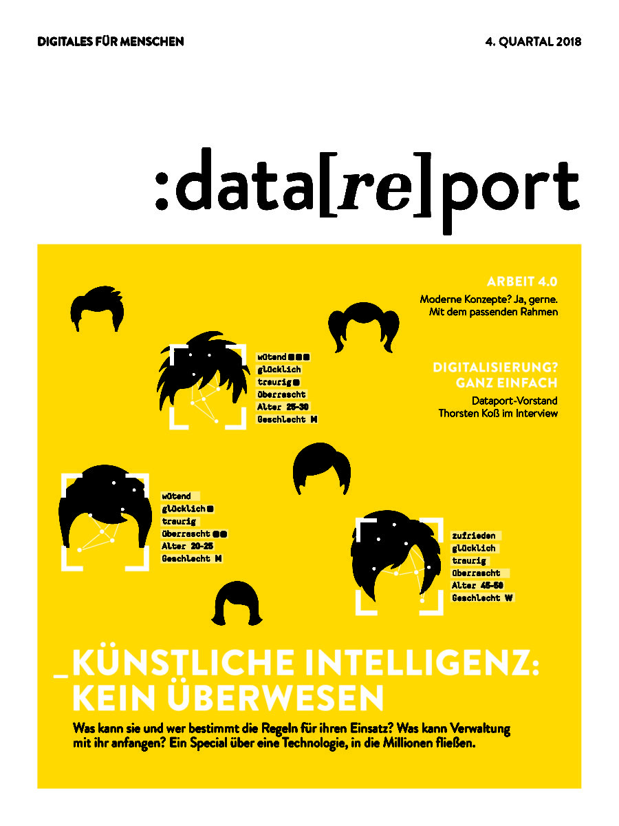 :data[re]port Cover