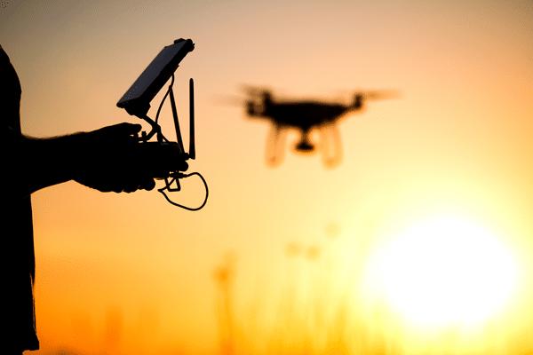 Technologie der Zukunft: Drohnen