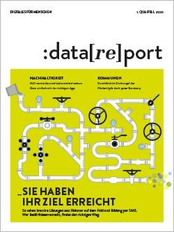 Titelblatt des Datareport 1 / 2020